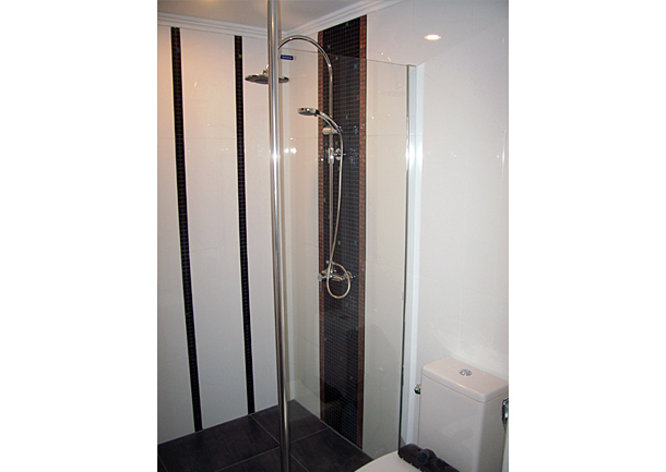 Trennwand Dusche Glas : Glass Shower Cabin