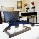 Möblierte 1-Zimmer-Wohnung mit Doppelbett, Nachttische, TV The Maledives Pattaya Jomtien