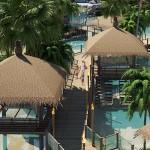 Gazebo-Entspannungsbereiche The Maldives Pattaya Jomtien