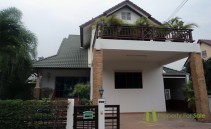 Detached House 220sqm living area and private landscaped garden for sale Pattaya Central Park