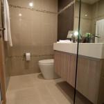 Badezimmer der 2-Zimmer-Wohnung (Musterwohnung) The Maldives Resort Jomtien