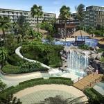 Unendliches Vergnügen im Pool und den Gärten The Maldives Resort Pattaya - Jomtien Thailand