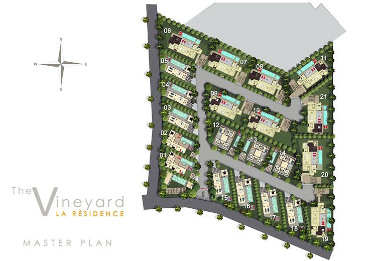 Pattaya la residence 4 zimmer villa privat pool kaufen for Haus musterplan