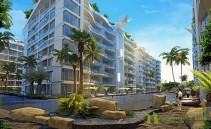 Condos for sale in Pattaya City Residence with 2600 sqm. lagoon pool