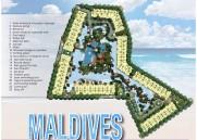 34.5m² 2-Zimmer-Wohnung The Maldives