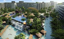 23 sqm Studio for sale in this grand resort The Maldives Jomtien