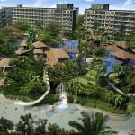 Pool mit einem Überfluß an Einrichtungen The Maldives Pattaya Jomtien