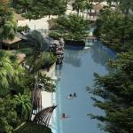 Ruhige Bereiche des Pools The Maldives Resort Pattaya - Jomtien Thailand