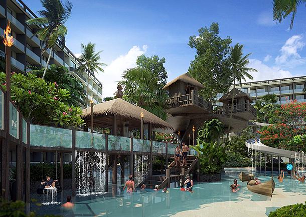 Das Planschbecken für die Kleinen The Maldives Resort Pattaya - Jomtien Thailand