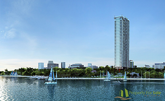 Wong Amat Tower condominium in North Pattaya