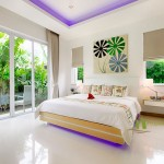 Elegantes Schlafzimmer Design in La Residence Vineyard Pool Villen Pattaya