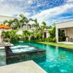 Whirlpool im Schwimmbad La Residence Vineyard Villen Pattaya