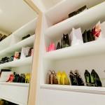 Der begehbare Kleiderschrank La Residence Vineyard Villa Pattaya