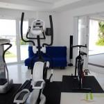 Privater Fitnessraum Villa mit Meerblick in Pattaya Ost