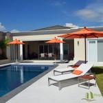 Entspannen Sie sich am Pool Villa mit Meerblick in Pattaya Ost