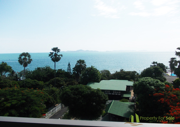 Meerblick von der 6ten Etage Wong Amat Tower Pattaya