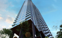 Persepktivische Ansicht Wong Amat Tower Pattaya